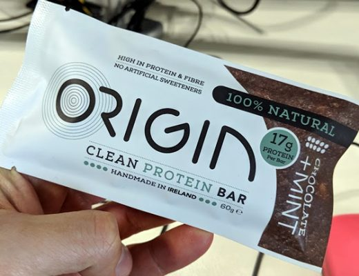 The origin protein bar