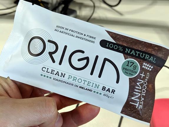 The origin protein bar